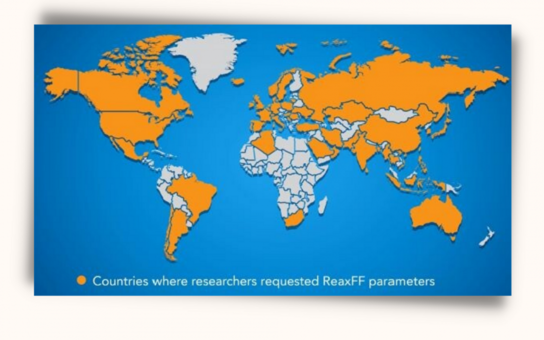 The ReaxFF Method Empowers Researchers Around the World with Better Simulations and Increased Efficiency